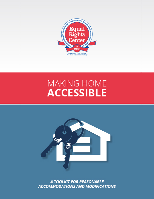 Cover page for Making Home Accessible toolkit