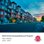 Cover page of the 2019-2020 MHRP Annual Report