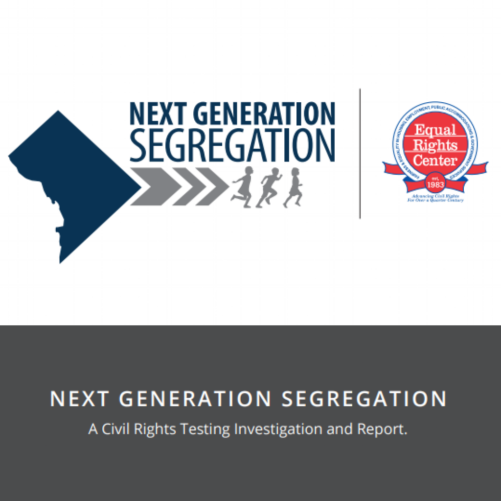 Cover page for Next Generation Segregation report